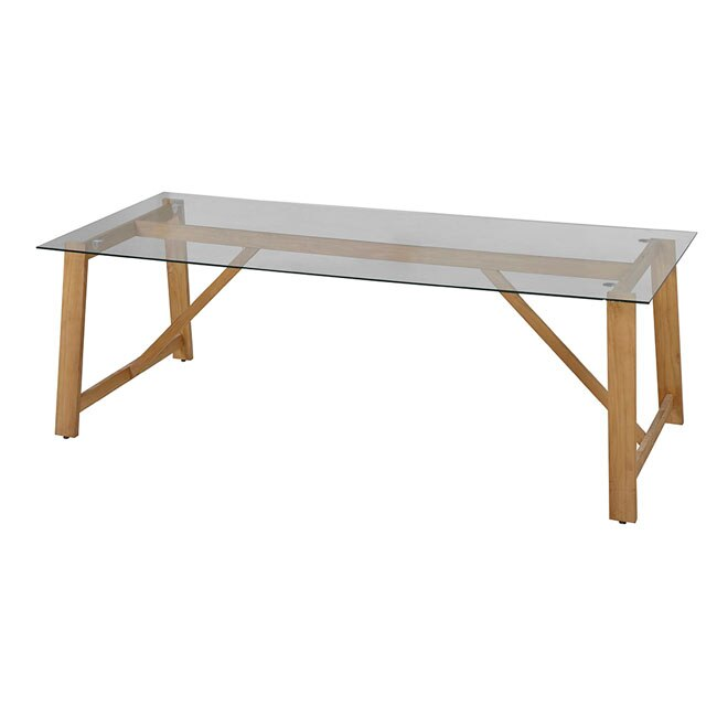 Mesa de madera chamonix g ref 17785166 leroy merlin for Mesa picnic madera leroy merlin