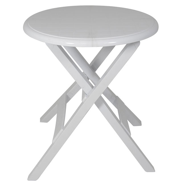 Mesa plegable de resina conil ref 15714685 leroy merlin for Mesas leroy merlin