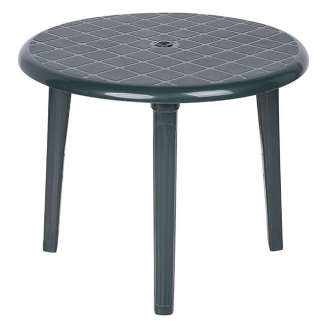 Mesa de resina costa redonda ref 13775846 leroy merlin - Leroy merlin mesas de cocina ...