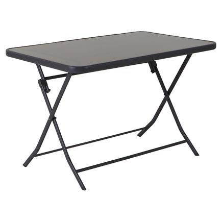 Mesa plegable de acero denver rectangular ref 81873344 - Mesa plegable leroy merlin ...