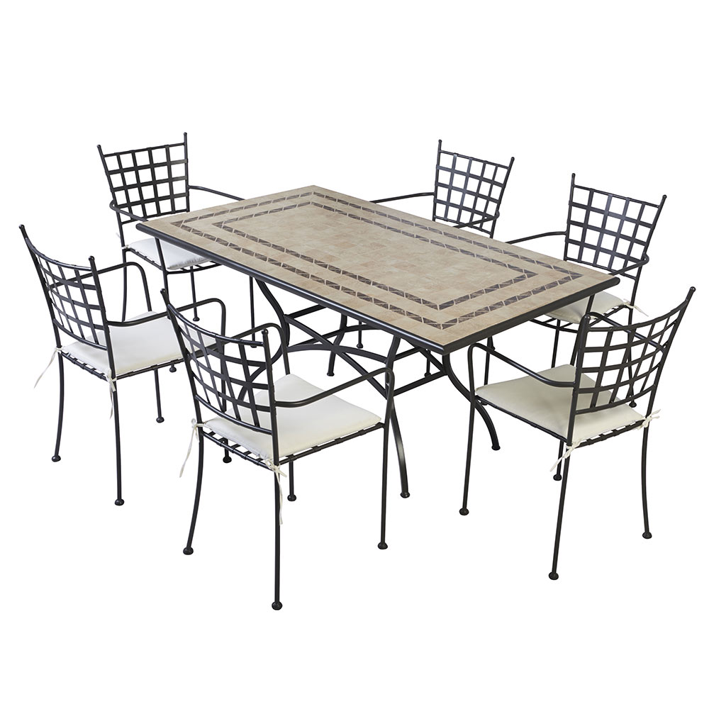 mesa de metal gij n grande ref 17782366 leroy merlin. Black Bedroom Furniture Sets. Home Design Ideas