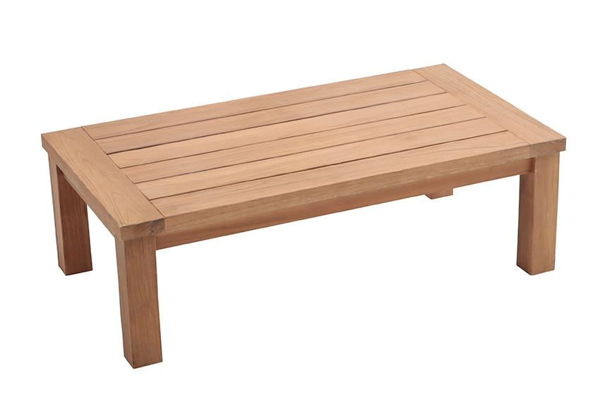 Mesa de madera de teca girona ref 17355324 leroy merlin - Mesa de teca ...