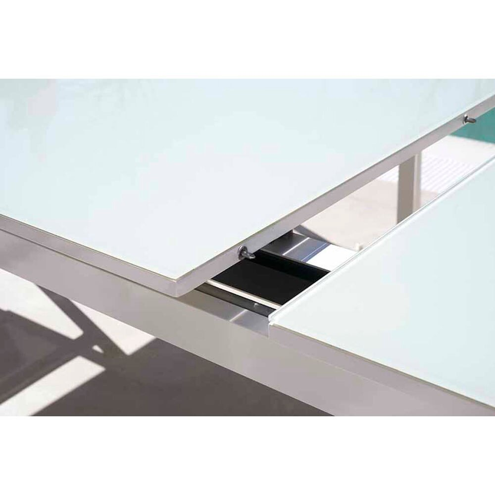 Mesa extensible de aluminio ibiza ref 15285011 leroy merlin - Tendedero extensible leroy merlin ...