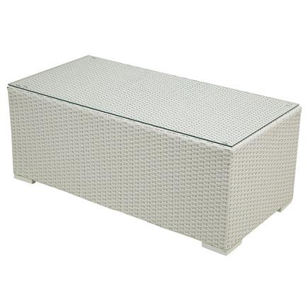Mesa de acero y rat n jamaica rectangular ref 17205370 leroy merlin - Mesa camilla rectangular leroy merlin ...