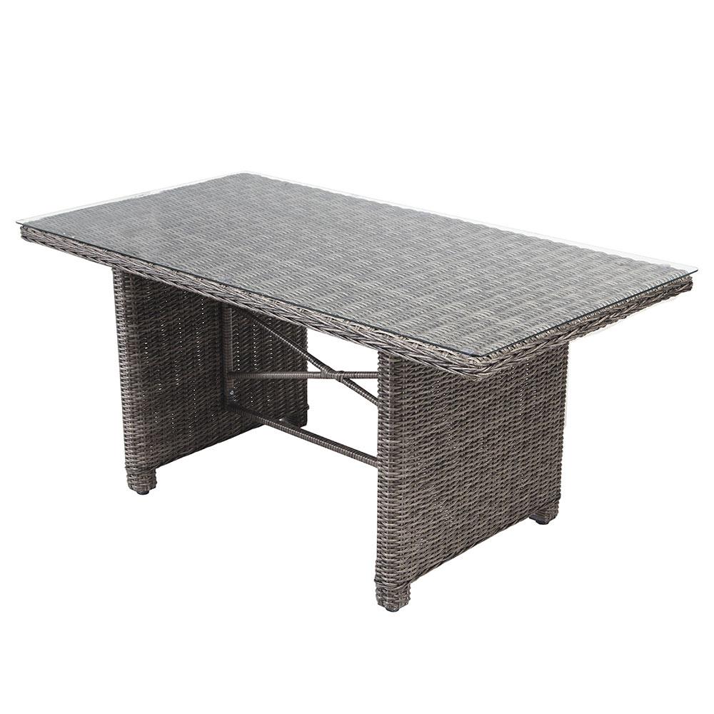 Mesa de aluminio y rat n sint tico medina ref 17205230 for Leroy merlin prato sintetico