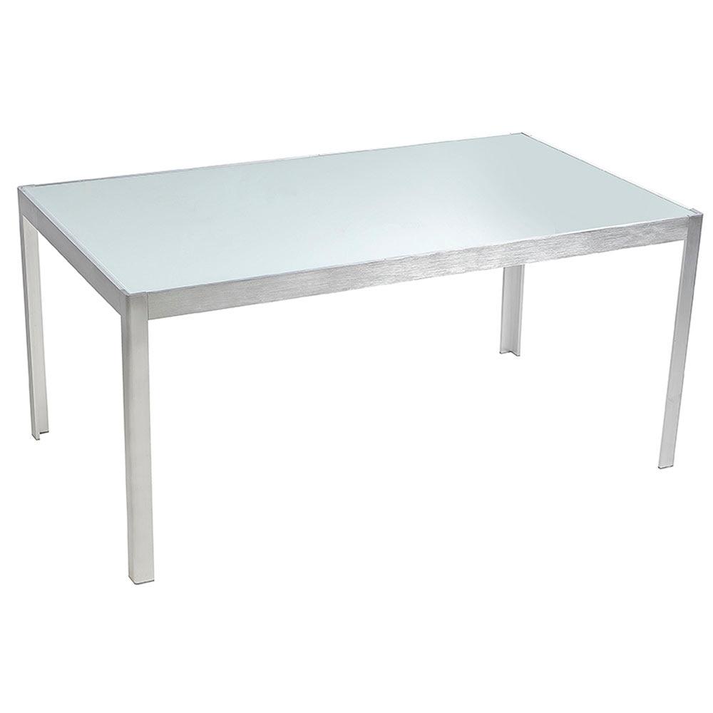 Mesa de aluminio y vidrio miami ref 15952804 leroy merlin - Mesa y silla infantil leroy merlin ...
