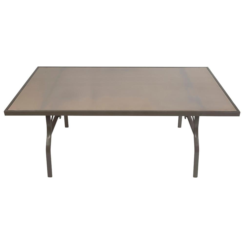 Mesa de hierro y cristal mojacar ref 19189422 leroy merlin for Leroy merlin cristal mesa