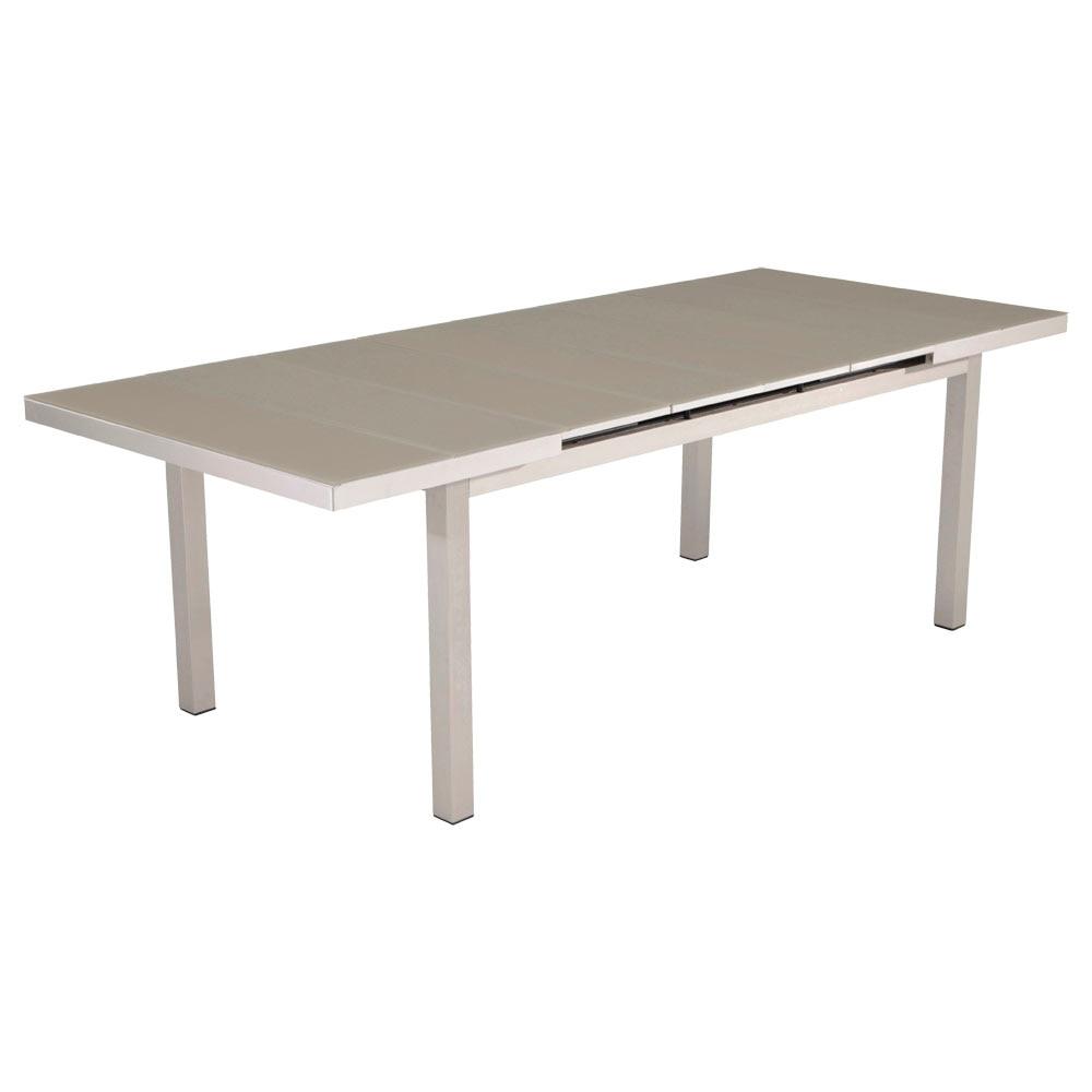 Mesa extensible de aluminio NIAGARA Ref. 81867470 - Leroy Merlin