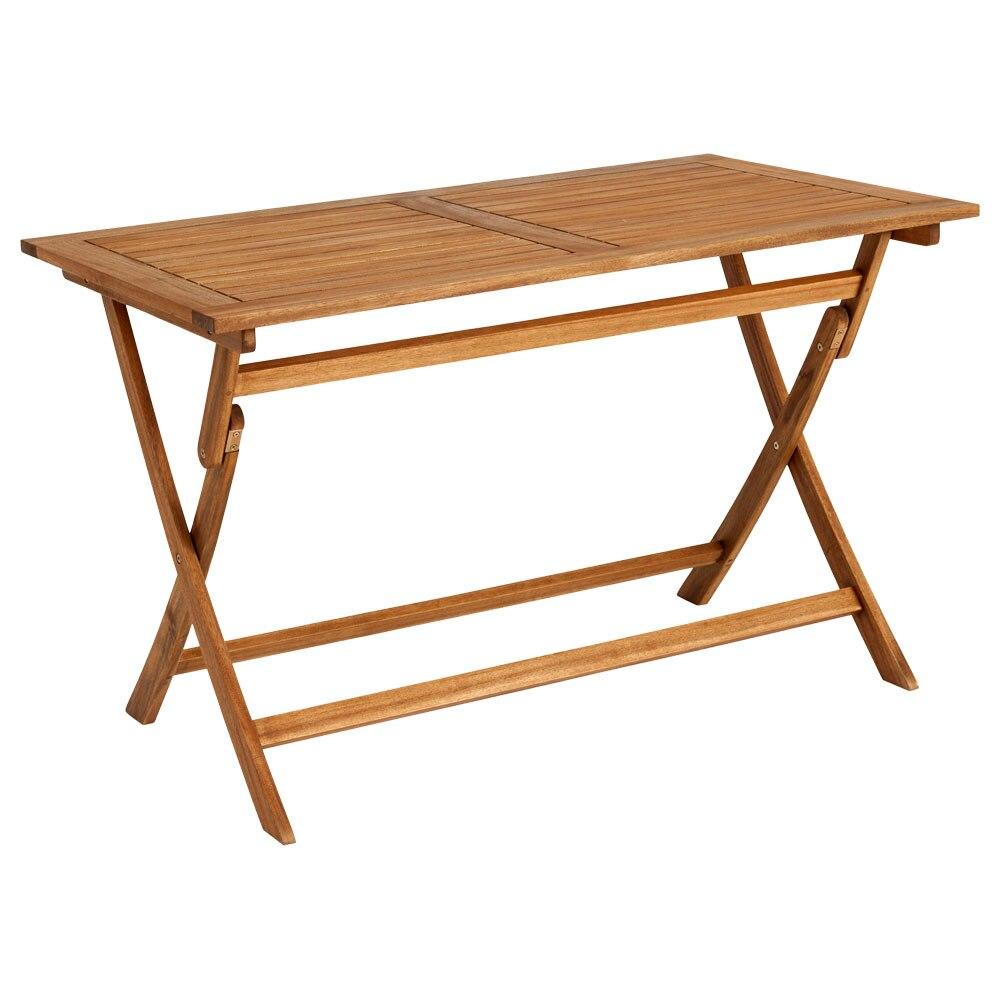 Mesa plegable de madera PORTO PLEGABLE Ref. 81873343 - Leroy Merlin