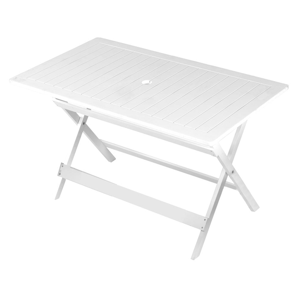 Mesa de madera de acacia remo ref 16568720 leroy merlin - Mesa plegable maleta leroy merlin ...