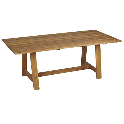 Mesa de madera soho ref 17784375 leroy merlin - Patas mesa leroy merlin ...
