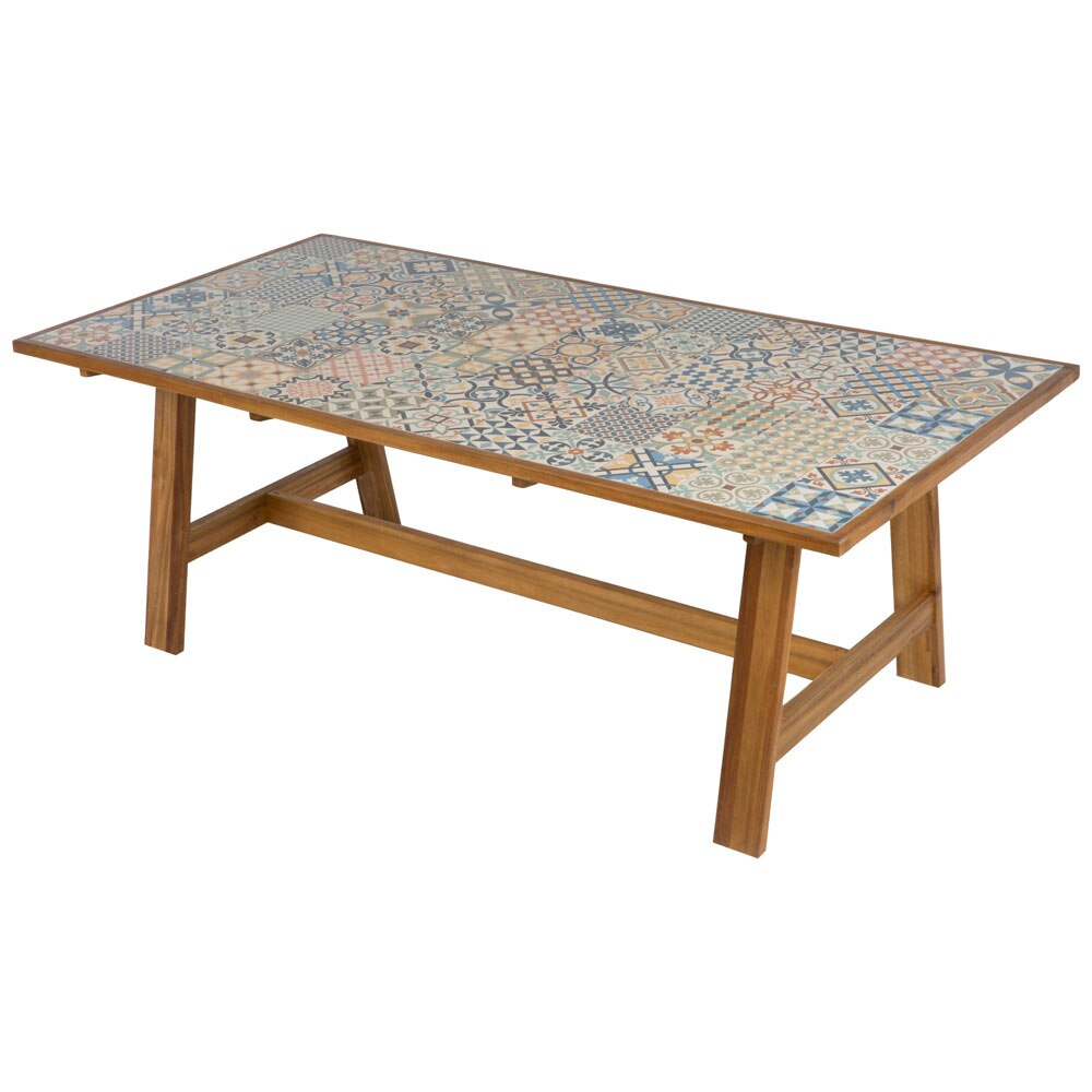 Mesa madera de acacia SOHO Ref. 19157411 - Leroy Merlin