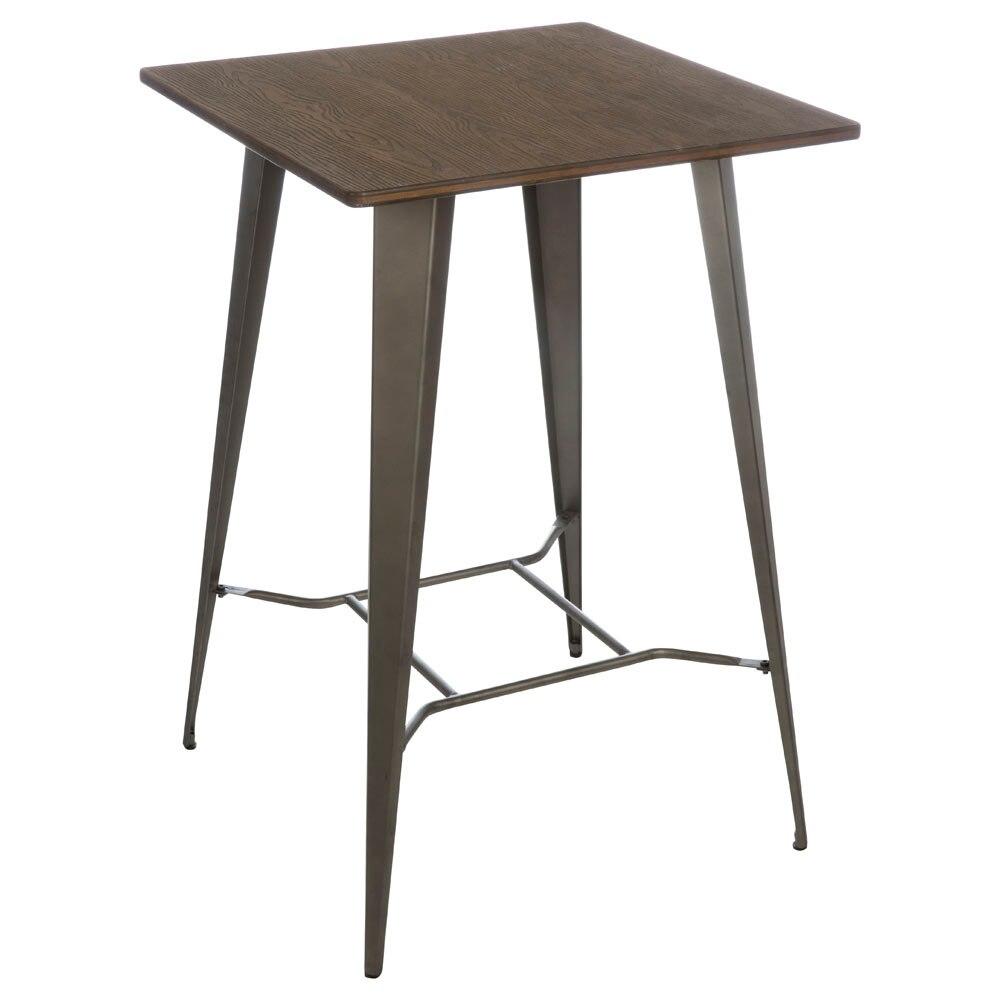 mesa alta de acero soho alta ref 19158272 leroy merlin