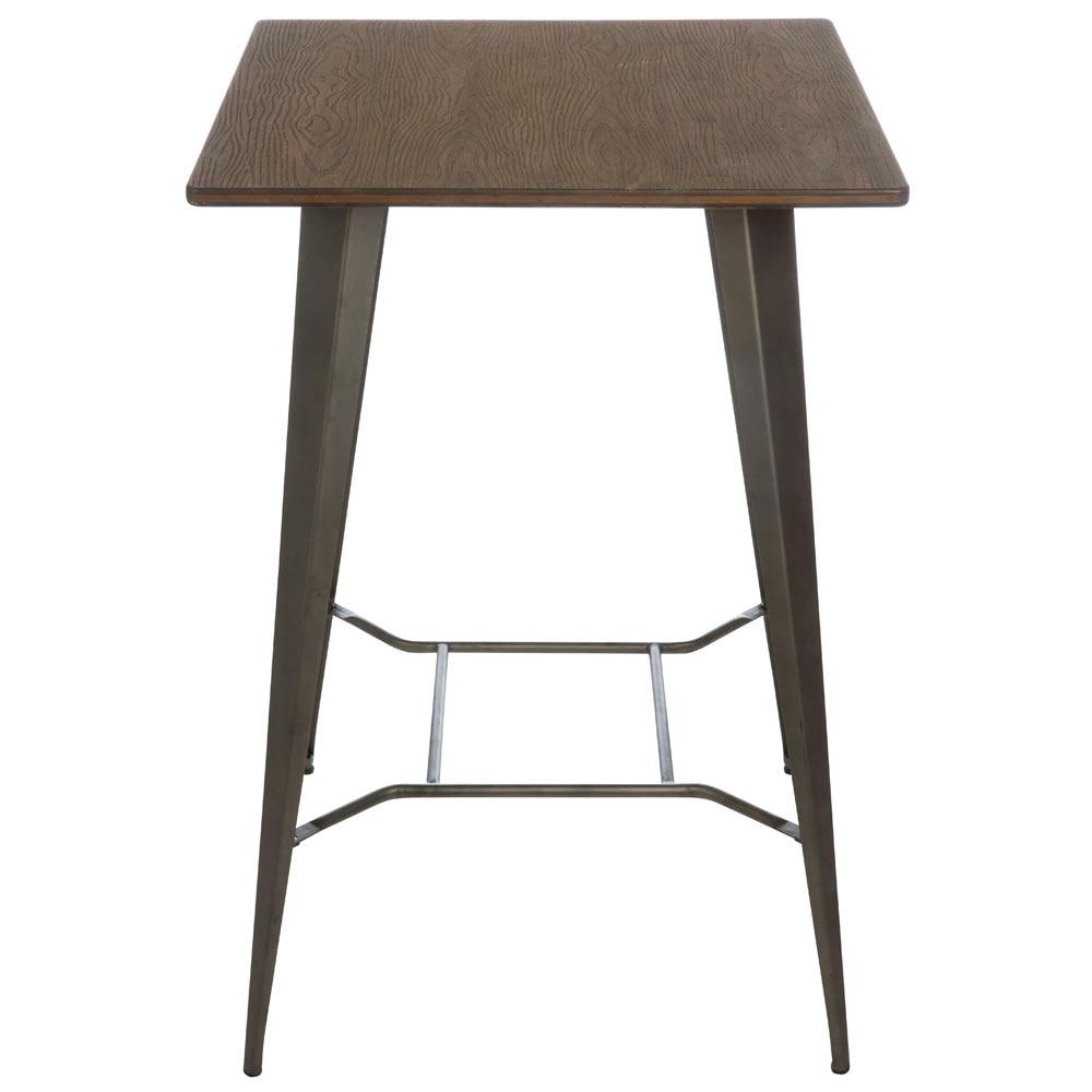 Mesa alta de acero soho alta ref 19158272 leroy merlin - Leroy merlin mesas de cocina ...
