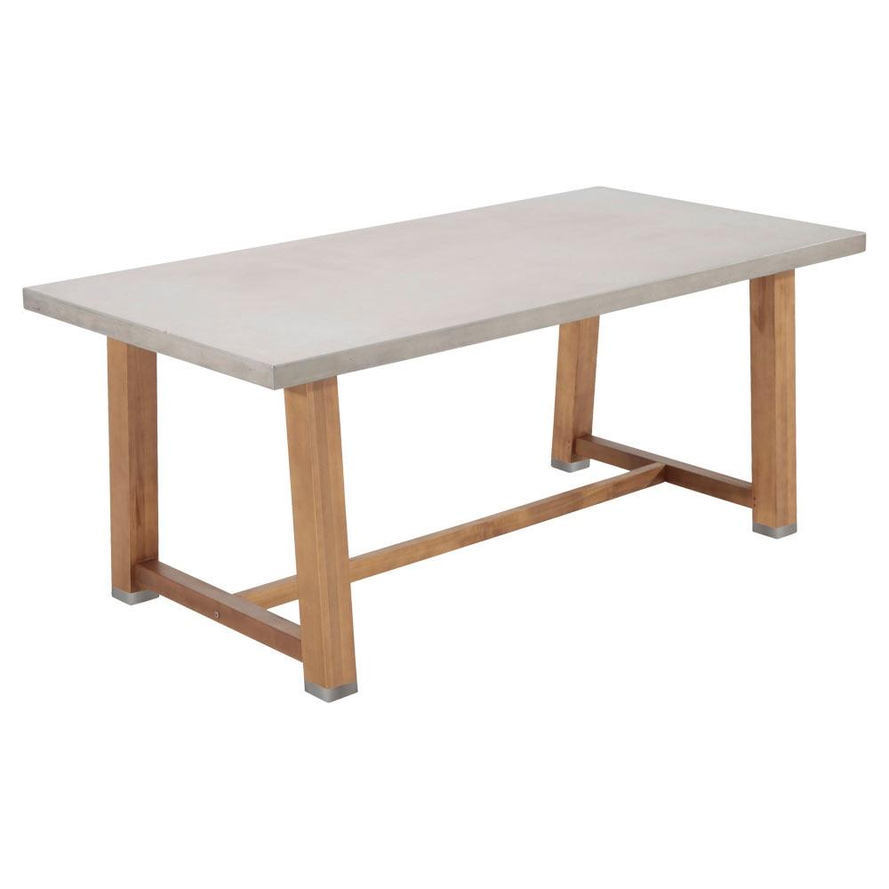 Mesa de madera y fibrocemento SOHO RECTANGULAR Ref. 81867711 ...