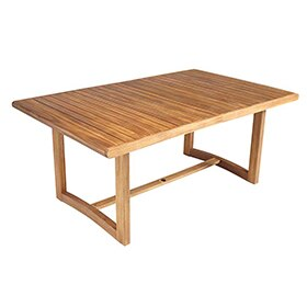 Tumbona de madera viena ref 17856524 leroy merlin - Mesa acacia extensible ...