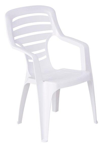 Silla de resina pireo blanco ref 15075823 leroy merlin - Sillas de resina ...