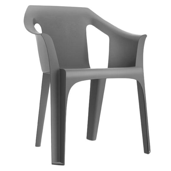 Casas cocinas mueble sillas de resina for Sillas cocina leroy merlin