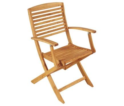 Dos sillas de madera de robinia robinia ref 16569063 for Sillas oficina leroy merlin