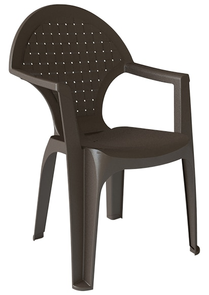 Silla de resina dream alto ref 17415412 leroy merlin for Sillas de resina carrefour