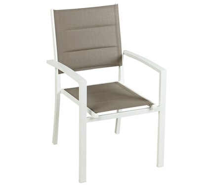 silla de aluminio lisboa blanco ref 17783570 leroy merlin