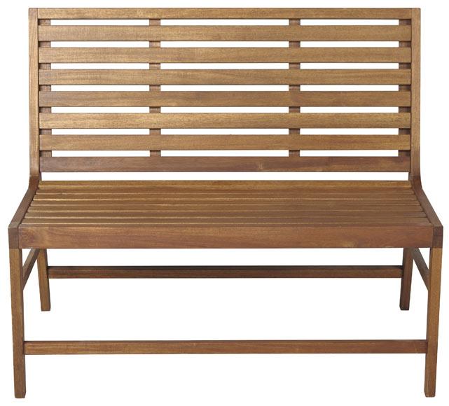 Banco de madera acacia filipinas ref 17810541 leroy merlin - Bancos de madera leroy merlin ...