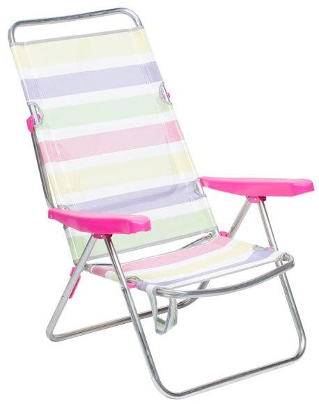 Silla de playa multicolor ref 18039861 leroy merlin - Sillas playa leroy merlin ...