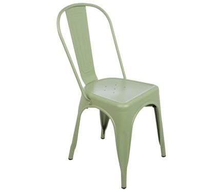 Silla de acero soho verde ref 19157894 leroy merlin - Sillas escritorio leroy merlin ...