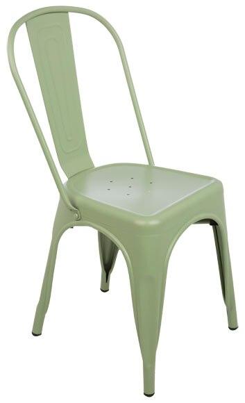 Silla de acero soho verde ref 19157894 leroy merlin for Sillas giratorias leroy merlin
