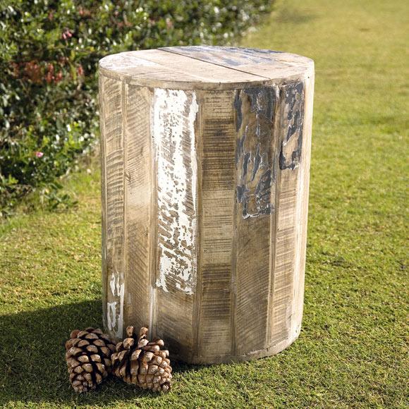 Taburete de madera de acacia sigulda ref 19202960 leroy - Taburetes de madera leroy merlin ...