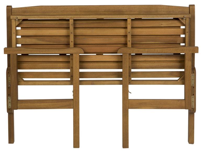 Banco de madera plegable acacia ref 19206502 leroy merlin for Bancos almacenaje leroy merlin