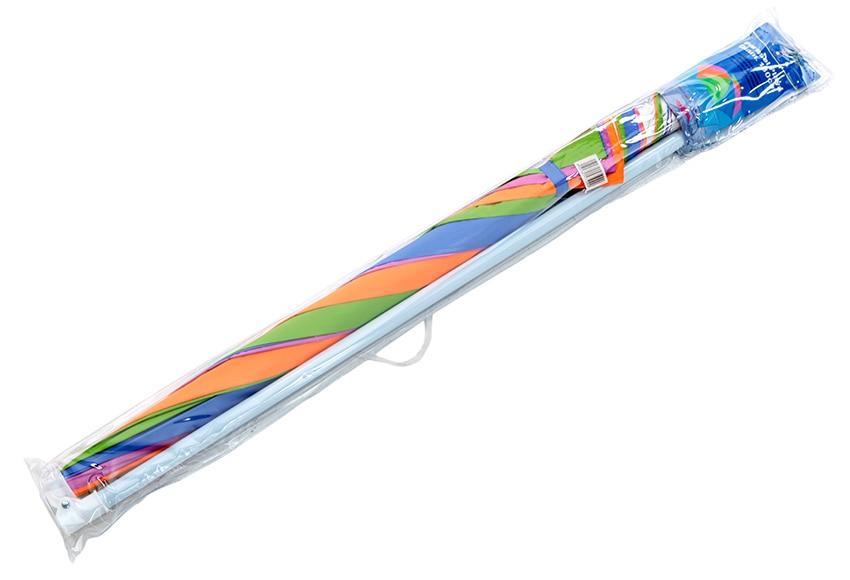 Parasol de aluminio con toldo de 180 cm naranja ref for Parasol deporte rectangulaire leroy merlin