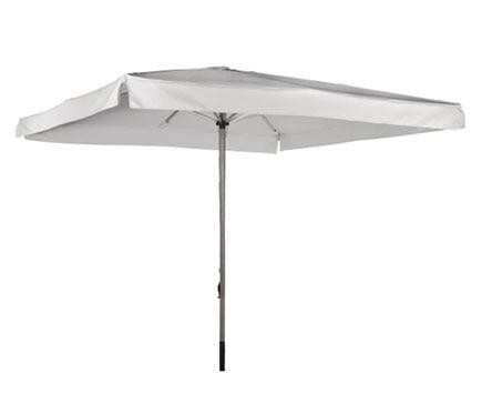 Parasol de acero inoxidable con toldo de 300 x 300 cm - Sombrillas leroy merlin ...