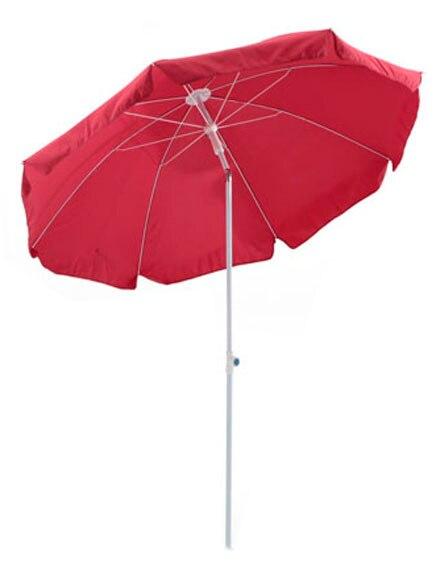 parasol de aluminio con toldo de 200 cm rojo ref 14273511 leroy merlin. Black Bedroom Furniture Sets. Home Design Ideas