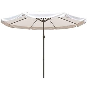 Captivating Parasol De Aluminio Con Toldo De 500 Cm ECLIPSE D500
