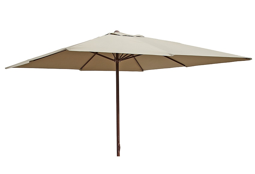 Parasol de aluminio con toldo de 300 x 300 cm imitaci n madera ref 15953742 leroy merlin - Leroy merlin parasol deporte ...