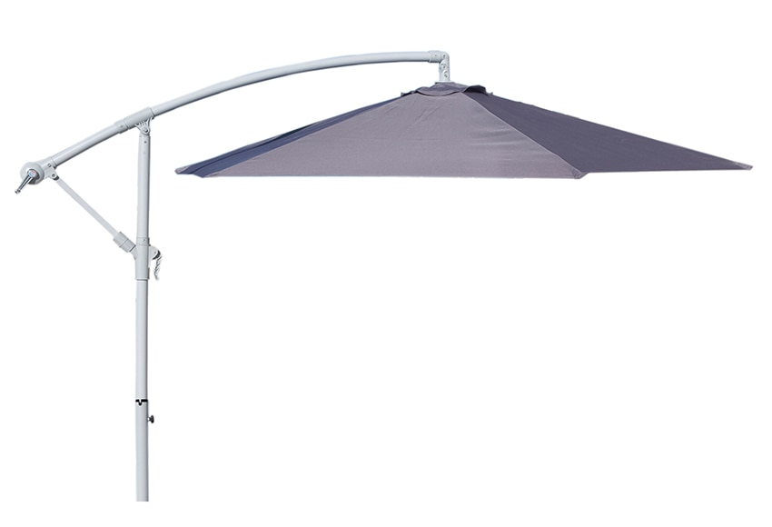 Parasol exc ntrico de acero con toldo de 270 cm mediterr neo ref 15958880 leroy merlin - Leroy merlin parasol deporte ...