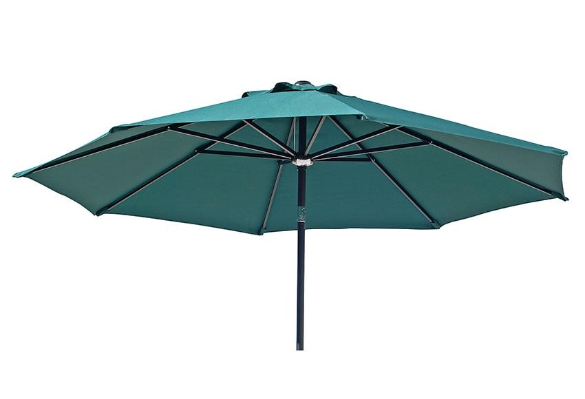 parasol de acero con toldo de 280 cm verde ref 15959580 leroy merlin. Black Bedroom Furniture Sets. Home Design Ideas