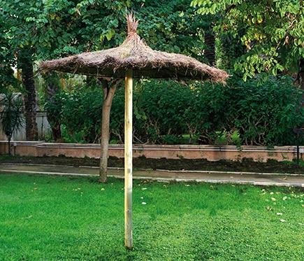 Parasol de brezo de 200 cm brezo ref 16289665 leroy merlin - Parasoles leroy merlin ...