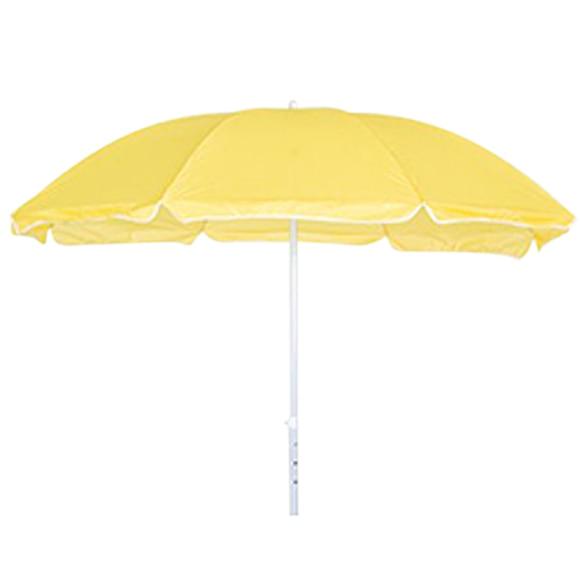 Parasol de acero con toldo de 180 cm playa amarillo ref 17257254 leroy merlin - Precio de sombrillas ...