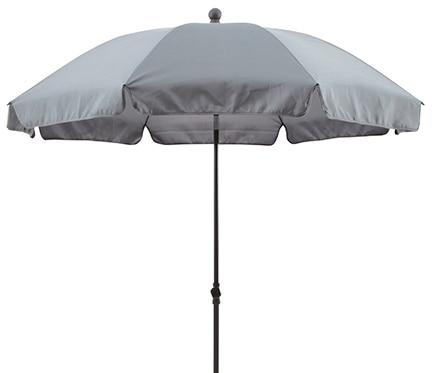 Parasol de metal con toldo de 200 cm gris ref 17430343 leroy merlin - Parasoles leroy merlin ...
