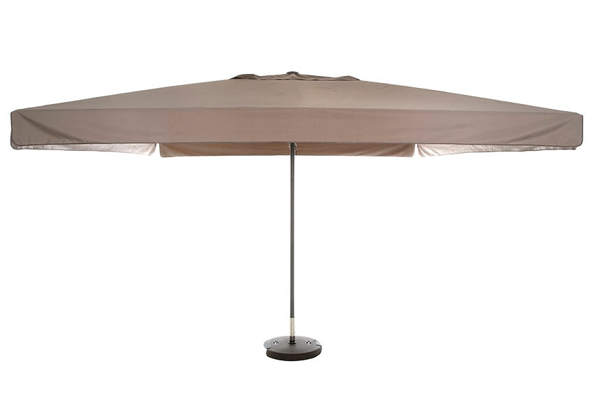 Parasol de aluminio con toldo de 400x400 cm naterial theia - Sombrillas leroy merlin ...