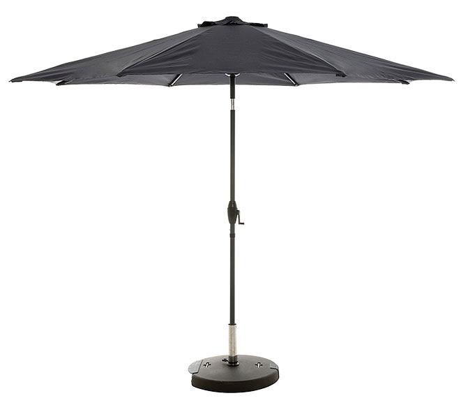 Parasol de aluminio con toldo de 300 cm naterial koeos - Sombrillas leroy merlin ...