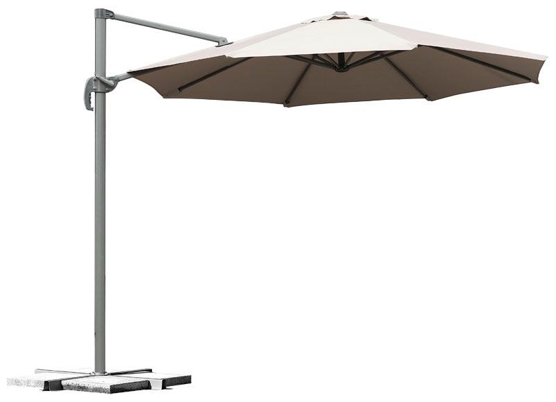 Parasol exc ntrico de aluminio con toldo de 300 cm - Sombrillas leroy merlin ...