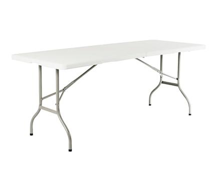 Mesa plegable de acero y resina catering easy ref - Mesa y silla infantil leroy merlin ...