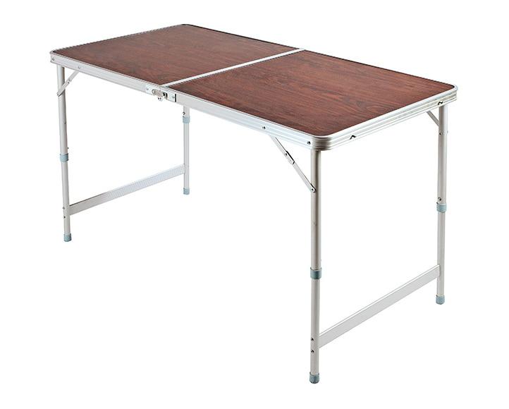 Mesa de aluminio camping ref 15962233 leroy merlin for Mesa plegable leroy merlin