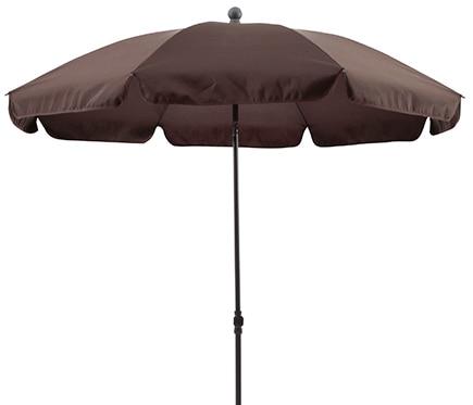 Parasol de metal con toldo de 200 cm chocolate ref 17430322 leroy merlin - Leroy merlin parasol deporte ...