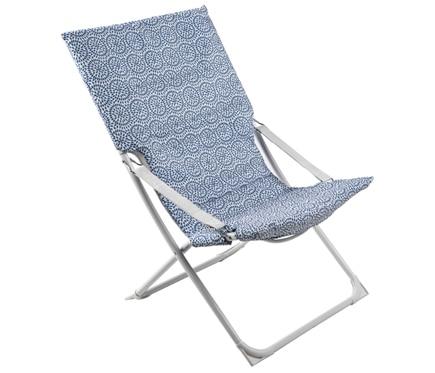 Silla de playa marsella azul ref 17784935 leroy merlin - Sillas de playa leroy merlin ...