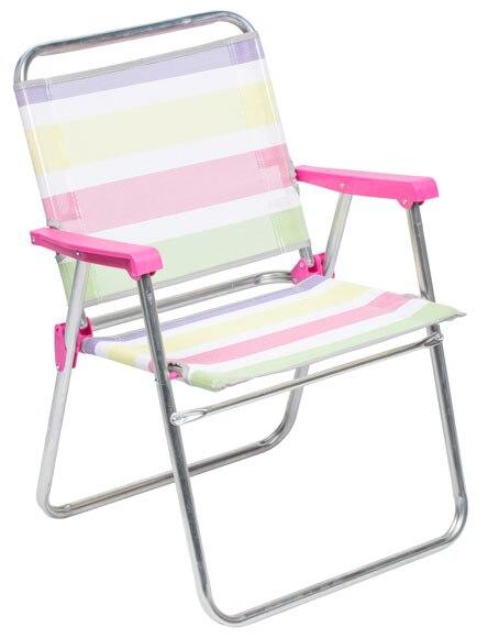 Silla de playa multicolor ref 18039833 leroy merlin - Sillas playa leroy merlin ...