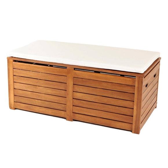Arcon banco de madera white teak naterial amazonia ref - Bancos de madera leroy merlin ...